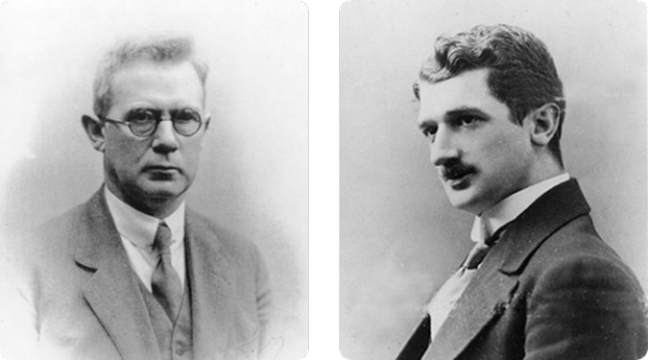 Novo Nordisk founders - Harald and Thorvald Pedersen (1887-1961) (1887-1966)
